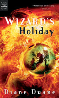 Wizard's Holiday: The Seventh Book in the Young Wizards Series Издательство: Magic Carpet Books, 2005 г Мягкая обложка, 448 стр ISBN 0152052070 инфо 1666l.
