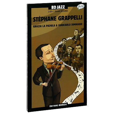 BD Jazz Volume 48 Stephane Grappelli 1937-1954 (2 CD) Серия: BD Series инфо 850c.
